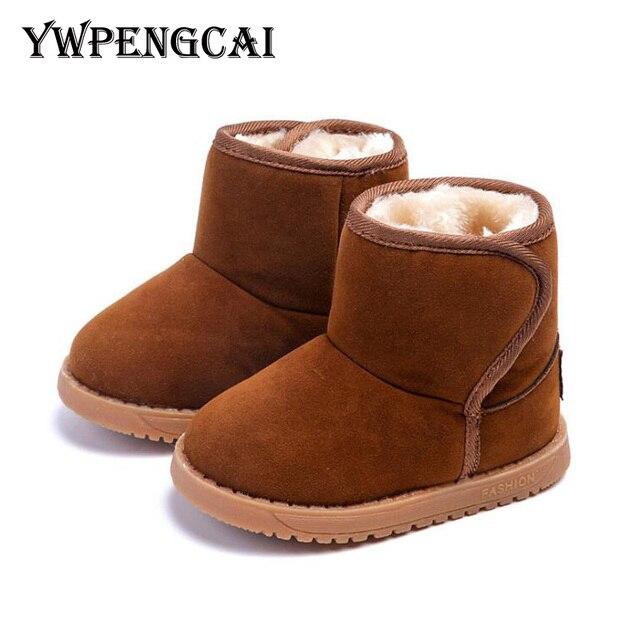 Maat 21 Kinderschoenen.Maat 21 25 Baby Peuter Laarzen Winter Schoenen Warme Dikke Bont