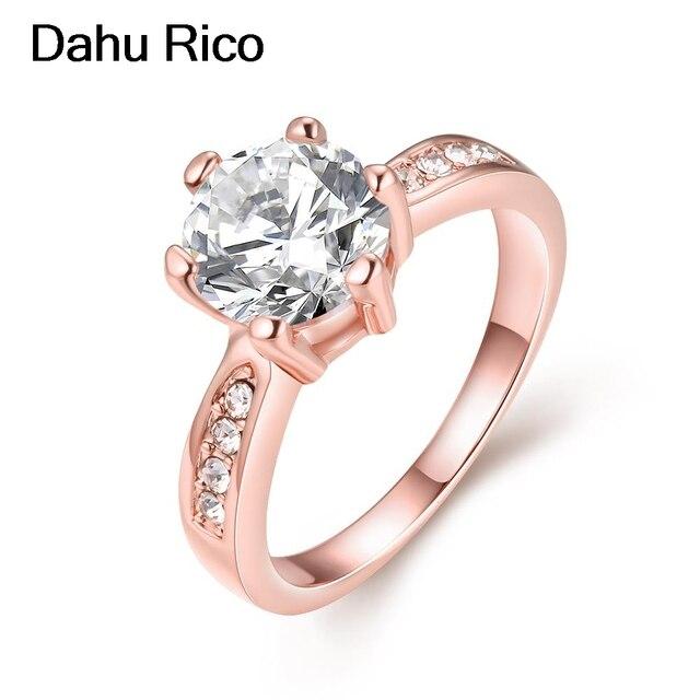 ef59bdf8a255 rose rosegold de piedras y cristales rhinestone dia de la madre de white  stone yuzuk sortijas marca famosa Dahu Dahu Rico rings