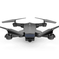 SMRC S6 drone with HD 720P wifi Double camera 2MP Gesture photo Optical flow positioning Smart follow me Helicopter