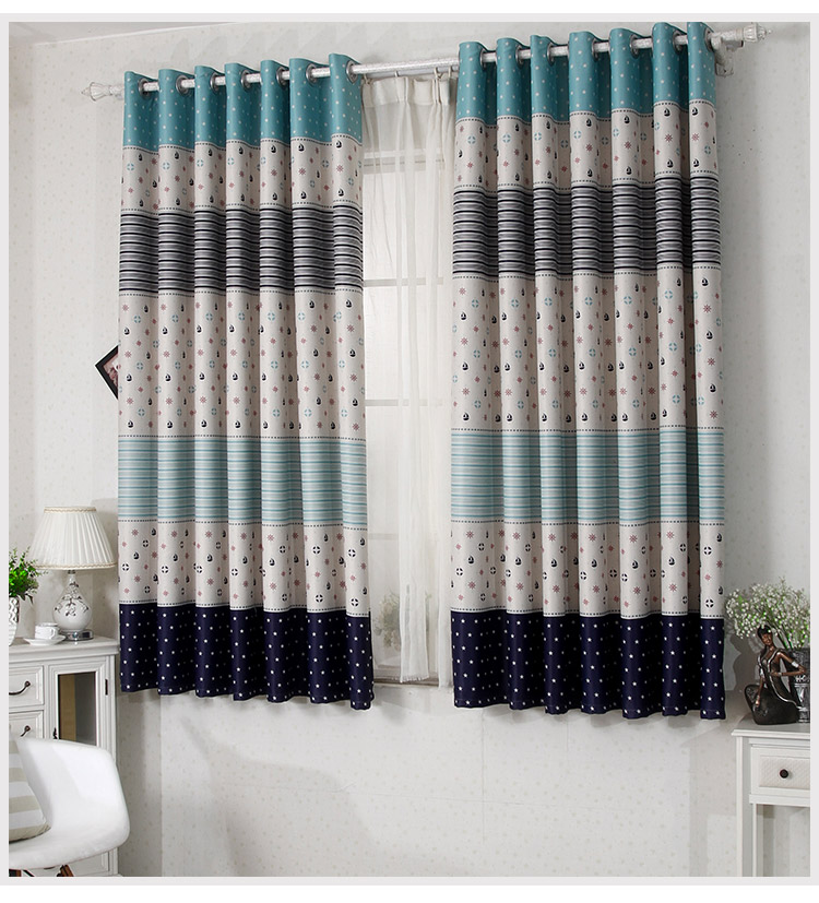 The New Short Blackout Curtains Finished /high End Curtain 2 Meter High  Short Blackout Curtains