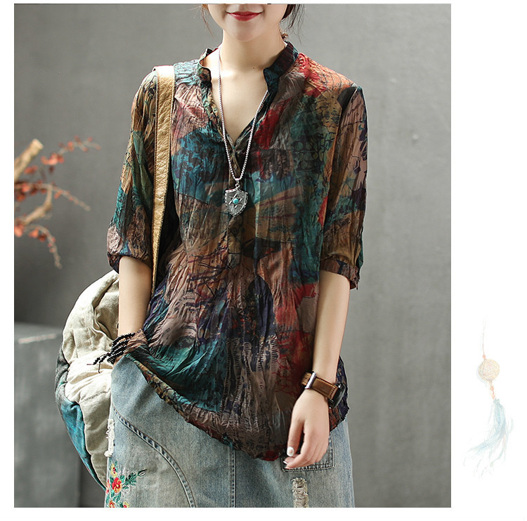 Korean And Blouses Shirts 15
