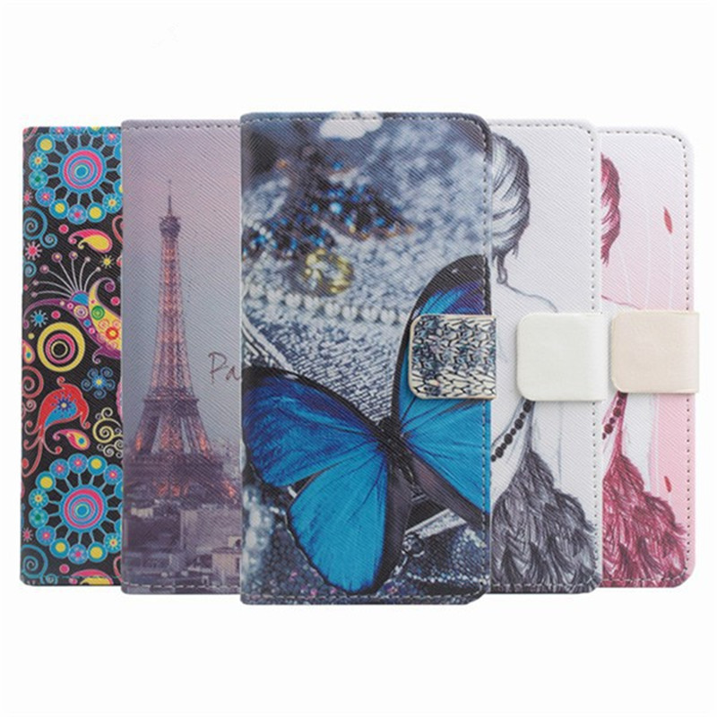 5 Painted Types for Asus ZenFone GO Phone Cases Leather Wallet Bag Stand Cover for Asus ZenFone GO TV ZB551KL 5.5 inch Case
