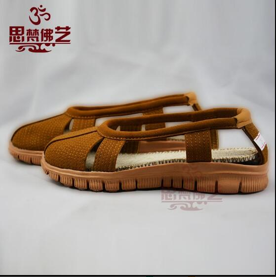 Childrens monk shoes Buddhist supplies Ancient chinese shoes Rohan shoes