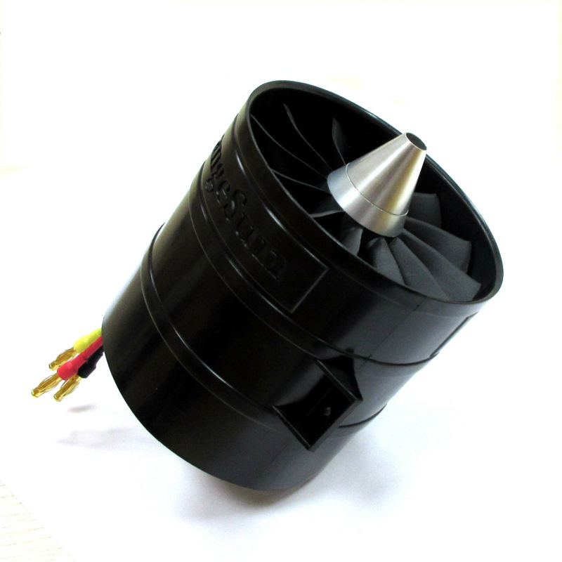 12-Blade 90mm EDF Upgrading Parts for Elctric RC Jets