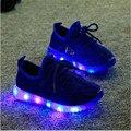 21-35 Crianças Sapatos Tamanho 2016 de Moda de Nova Bonito CONDUZIU a Iluminação Vendas quentes Encantador Caçoa As Sapatilhas de Alta Qualidade Cool Boy Meninas sapatos