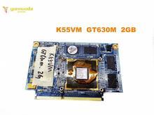 Tarjeta gráfica Original para ordenador portátil ASUS K55VM GeForce GT630M, N13P GL A1, 2GB, A55V, K55VM, K55VJ, K55V, testd