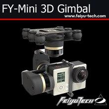 FeiYu nueva 3 ejes cardán para aviones/FY-Mini 3D sin escobillas del cardán para Multicoper avión