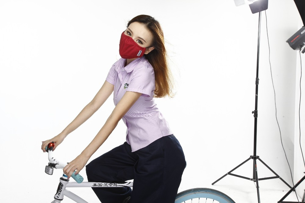 Anti dust-masks PM 2.5 mask Cotton dust masks wind proof mouth-muffle flu face masks Activated carbon filtration Color Red anti dust maskspm 2 5 mask cotton training dust masks windproof mouth muffle with breathing valve activated carbon filtration