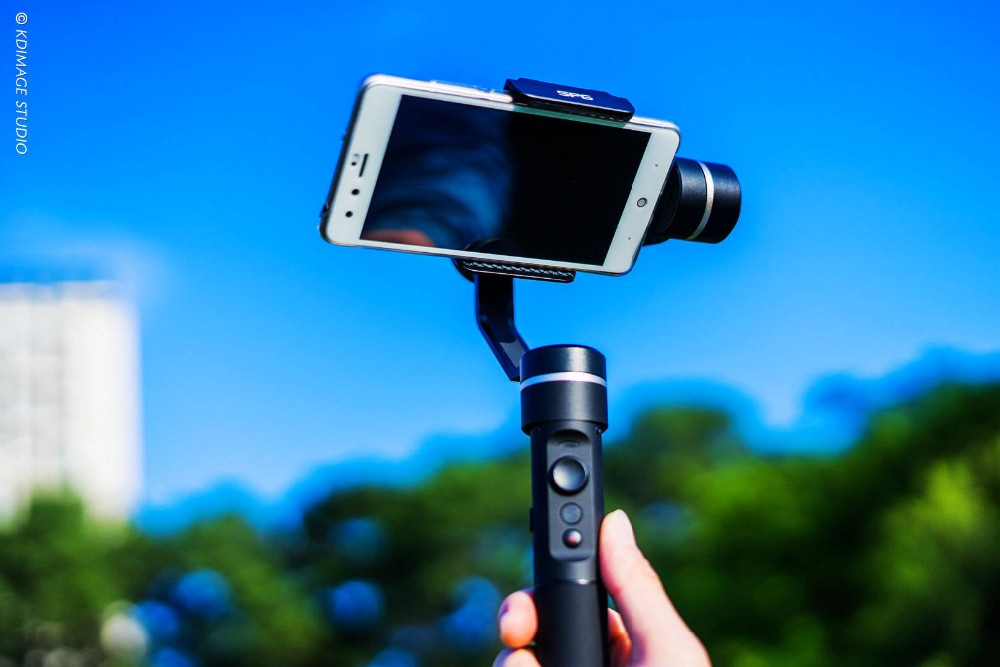 Feiyu SPG 3 axis handheld smartphone stabilizer gimbal for iPhone 6s plus iPhone 7 Action Cameras Gopro 5 Hero 4 Xiaomi yi