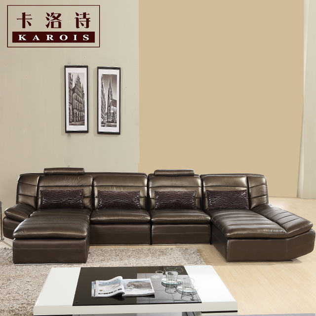 corner furniture for living room. morden sofa leather corner livingroom furniture factory export for living room