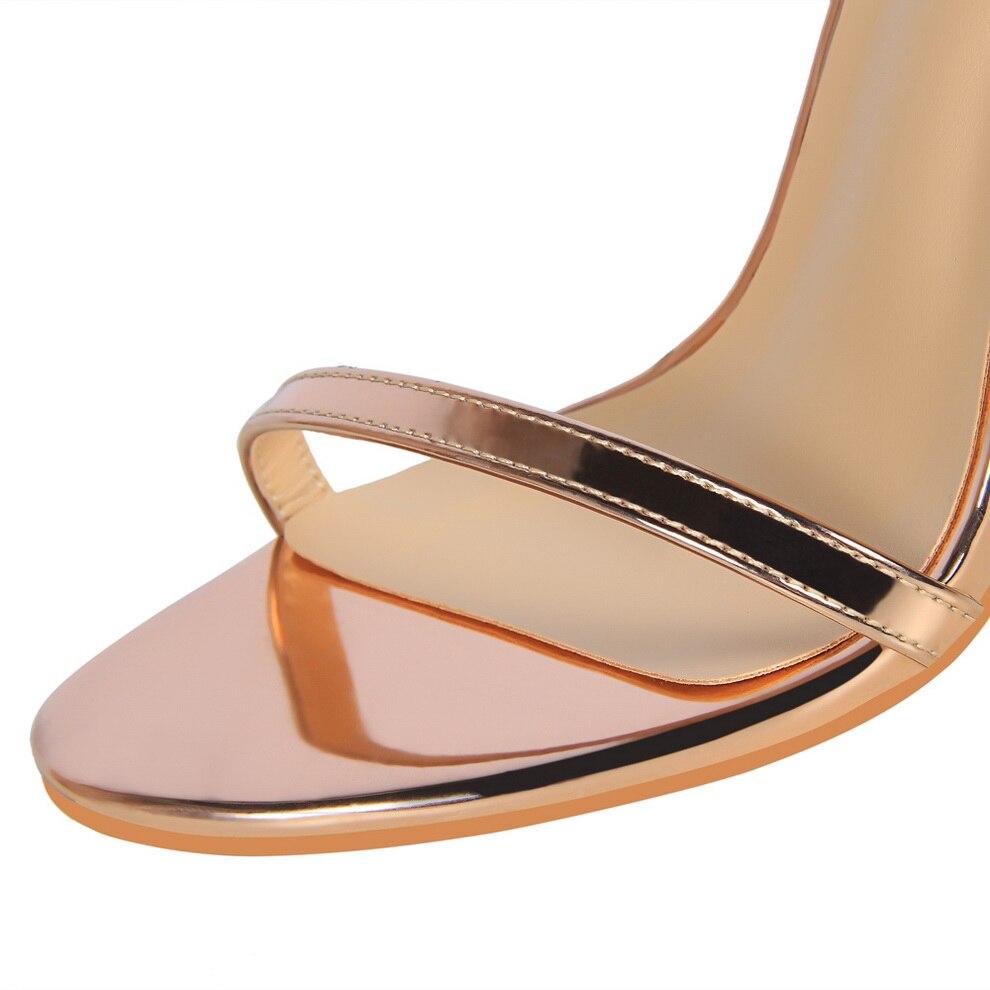sandálias de salto alto feminino dedo do