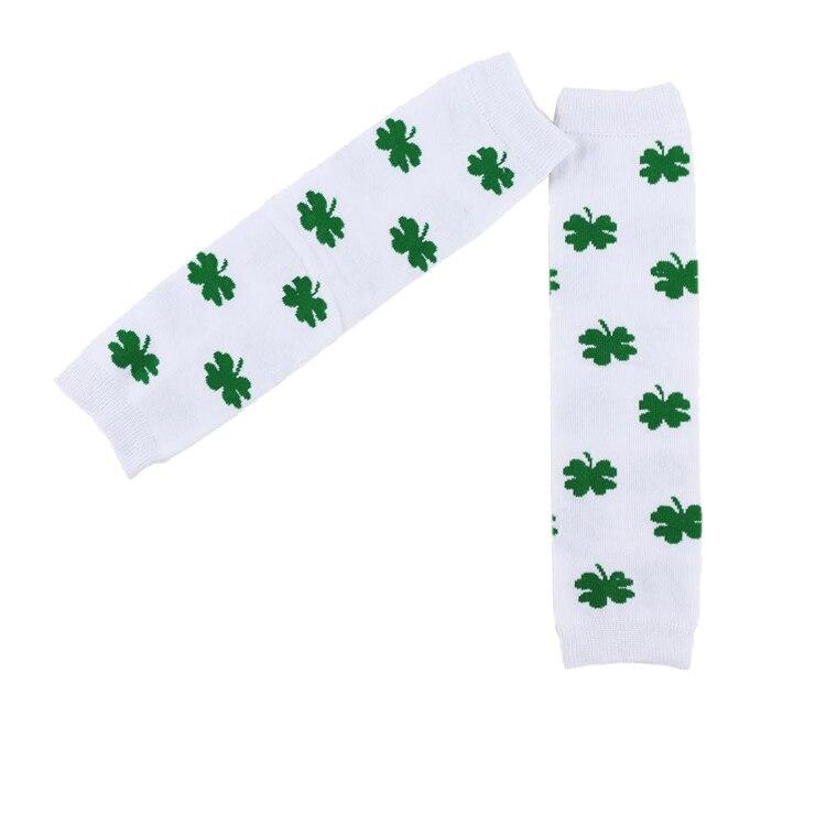 Sale-Casual-Leggings-Leg-Warmers-Baby-New-Arrival-Kids-Winter-Set-For-St-Patricks-Day-Four-Leaf-Design-Leg-Warmer-Infant-4