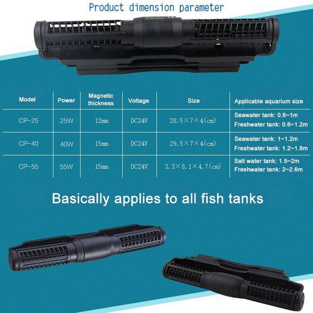 Аквариумный насос, волновой насос, 110 240 В, поперечный поток, 5 потока, модель CP 55, для аквариума, беспроводной главный рабочий насос, контроль, волновой производитель - 6