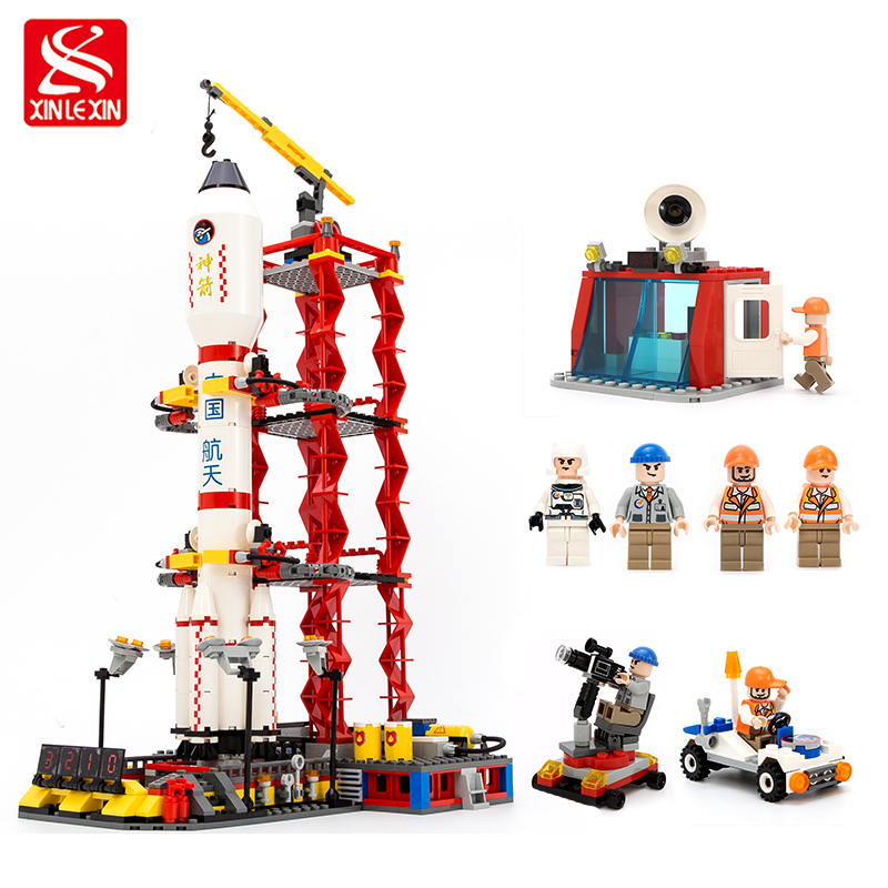 753pcs City Space Center Rocket Space Shuttle Blocks Bricks Building Blocks Birthday Gift Educational Toys For Children loz mini diamond block world famous architecture financial center swfc shangha china city nanoblock model brick educational toys
