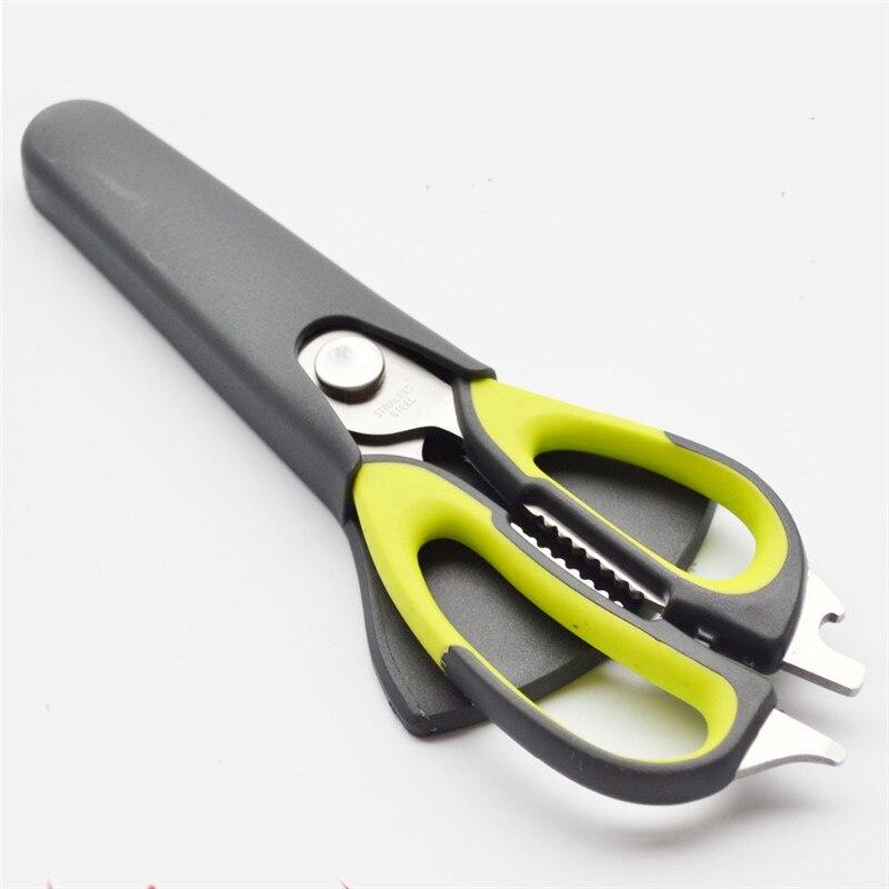 Best Stainless Steel Kitchen Scissors Shears Multifunction Cutter Chicken Bone Fish Kitchen