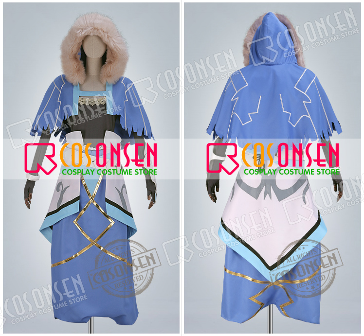 FGO Cu Chulainn Caster Fate Grand Order Stage 1 Cosplay Costume Full Set All Size COSPLAYONSEN Custom Made-in Anime Costumes from Novelty & Special Use    2
