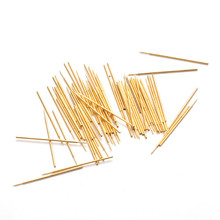 PA035-B Voltage Test Probe Spring Phosphor Bronze Tube Gold-Plated Electronic Instrument Tool For Testing Tools Safe And Durable p048 j 100 pcs pack spring test probe phosphor bronze tube gold plated electrical instrument tool for testing circuit board