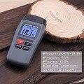 MT15 измеритель влажности древесины  двухконтактный цифровой детектор влажности с большим ЖК-дисплеем портативный тестер влажности древеси...