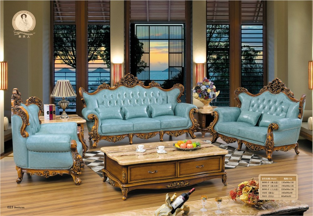 Online get cheap victorian style furniture - Victorian living room set for sale ...