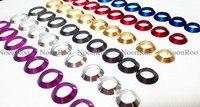 Dekorative ring Trim ring für angelrute/winding überprüfen DIY Angelrute aluminium teil Reparatur komponenten mix größe-in Angelruten aus Sport und Unterhaltung bei