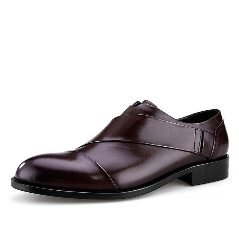 De Noir Mariage Hommes Sapatenis Bottes Masculino Bout Luxe Concepteurs Pointu Homme Mycoron Robe Noir Top Qualité En Chaussures Cuir brown SVzMUqp