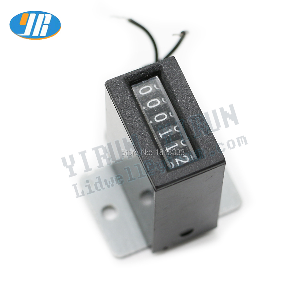 1pcs 6 digits Arcade coin DC12V 18CPS Mechanical Counter for crane machine Swing machine mario