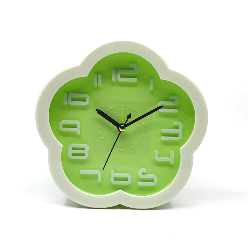 Alarm Clocks Digital Clock Home Decor Bedside Desk Table Kid Creat Gifts Square Portable Candy Colors Function Clock Travel Trip