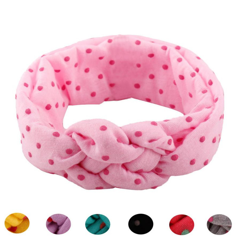 2017 new 1PC Baby Girl Kids Cute Toddler Bow Hairband Headband(without retail package) fitas de cetim para artesanato #15