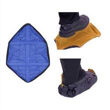 1 Pair Reusable Shoe Cover One Step Hands-free Sock Shoe Covers Durable Portable