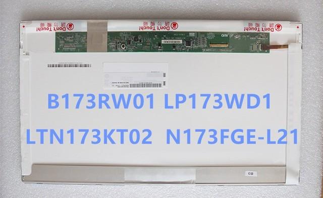 free shipping N173O6-L02 LTN173KT01 LTN173KT02 LP173WD1 TLA1 TLC3 B173RW01 17.3 inch LCD screen The laptop screen Brand New A+