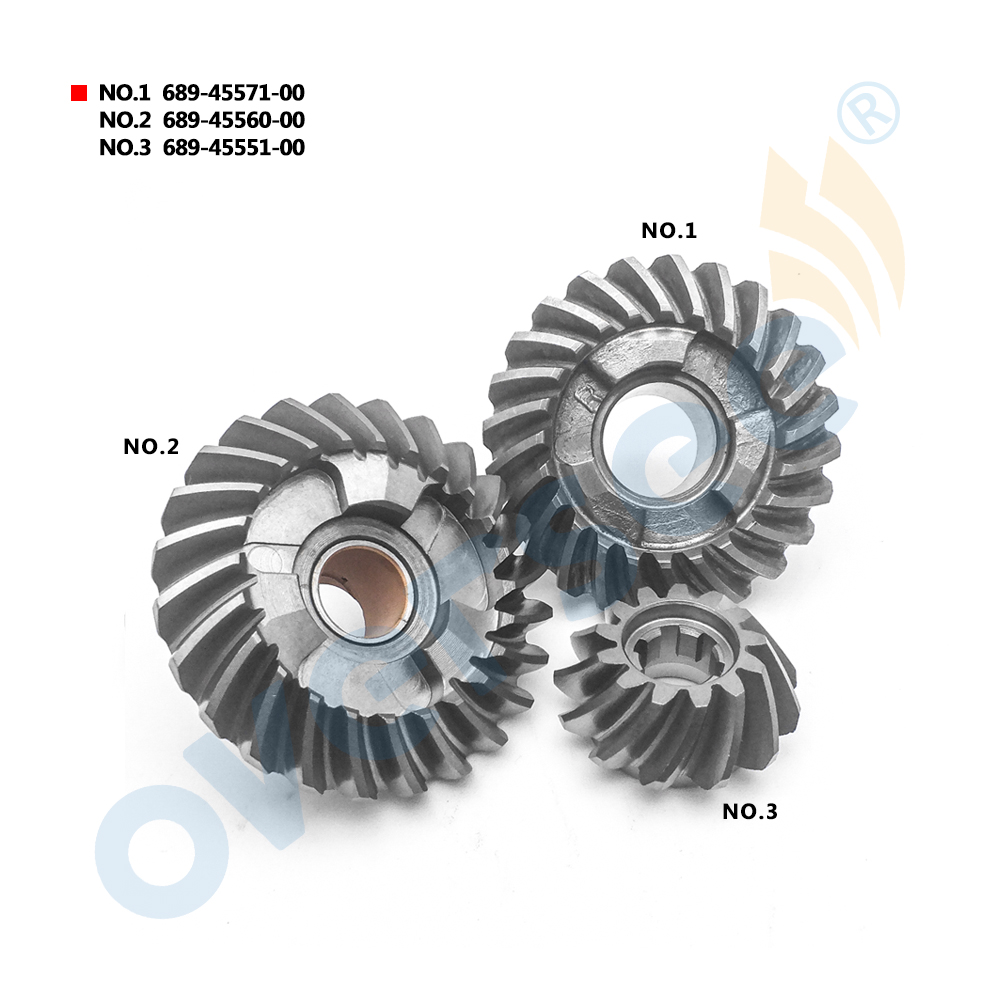 OUTBOARD GEAR PINION SET 689-45571 689-45560 689-45551 For Yamaha Outboard Motor 25HP 30HP oversee 32900 96371 for 25hp 30hp suzuki outboard cdi unit 1996 1999 25 30hp 32900 963a0 32900 96350 32900 96370
