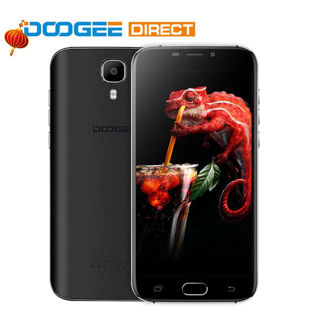 In Stock DOOGEE X9 Pro 4G Phablet Android 6.0 5.5 inch MTK6737 Quad Core 1.3GHz 2GB RAM 16GB ROM Fingerprint Scanner