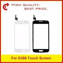 Высококачественный сенсорный экран с цифровым преобразователем для Samsung Galaxy Core LTE Avant SM G386F G386, Внешний стеклянный объектив с кодом отслеживания