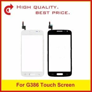 Image 1 - Yüksek Kaliteli Samsung Galaxy Çekirdek LTE Avant SM G386F G386 Dokunmatik Panel Ekran Sayısallaştırıcı Sensörü Dış Cam Lens Takip kod