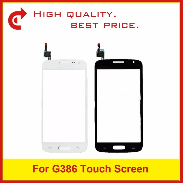 Yüksek Kaliteli Samsung Galaxy Çekirdek LTE Avant SM G386F G386 Dokunmatik Panel Ekran Sayısallaştırıcı Sensörü Dış Cam Lens Takip kod