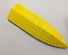 E25 Electric Brushless Fiber Glass RC Racing Boat KIT Prepainted Bare Hull Only Deep Veep RC Boats Yellow