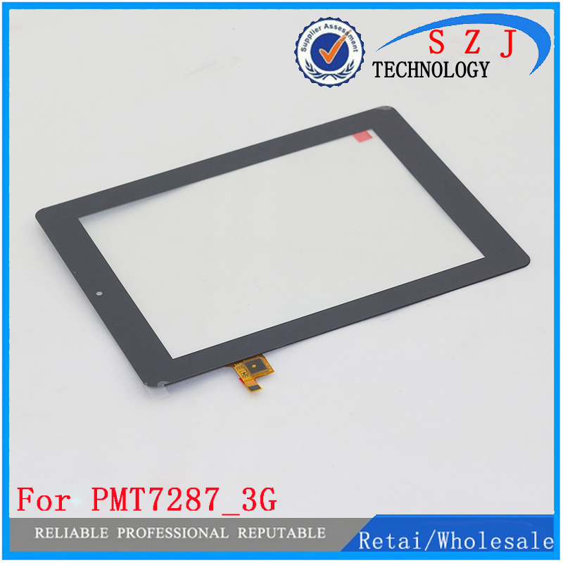 New 8'' inch For Prestigio MultiPad 4 Ultra Quad 8.0 3G PMT7287_3G Tablet touch screen panel Digitizer Glass Sensor replacement zhiyusun new 10 4 inch touch screen 239 189 for industry applications 239mm 189mm 8 lins 47f8104025 r13 commercial use