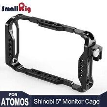SmallRig DSLR Camera Directors Monitor Cage for Atomos Shinobi 5 AtomX With QR Nato Rail 2305