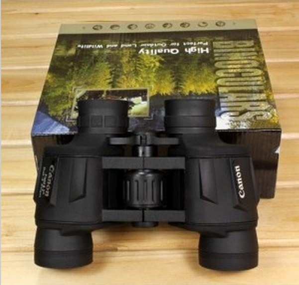 Free Shipping Canon 8x40 Bak4 lens optical font b binoculars b font telescope HD professional 100