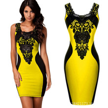 2017 New Embroidery Bodycon Women Summer Dress