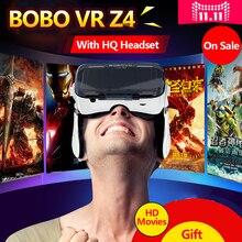 Original Xiaozhai BOBOVR Z4/BOBO VR Z4 with headphone Virtual Reality 3D VR Glasses cardboard for 3.5-6.0 inch smartphone
