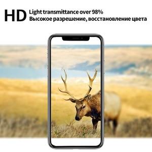 Image 5 - 10D Full coverage iPhone 6 용 보호 유리 6S 7 8 plus X XR XS iphone 용 최대 유리 7 8 6 6S X XR XS MAX 화면 보호기
