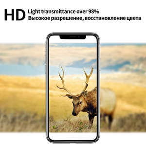 Image 5 - 10D Full coverage protective glass for iPhone 6 6S 7 8 plus X XR XS MAX glass on iphone 7 8 6 6S X XR XS MAX screen protector