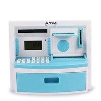 Children S Educational Toys Tuba Intelligent Simulation ATM Piggy Bank Teller Machine Password Creative Cartoon Piggy
