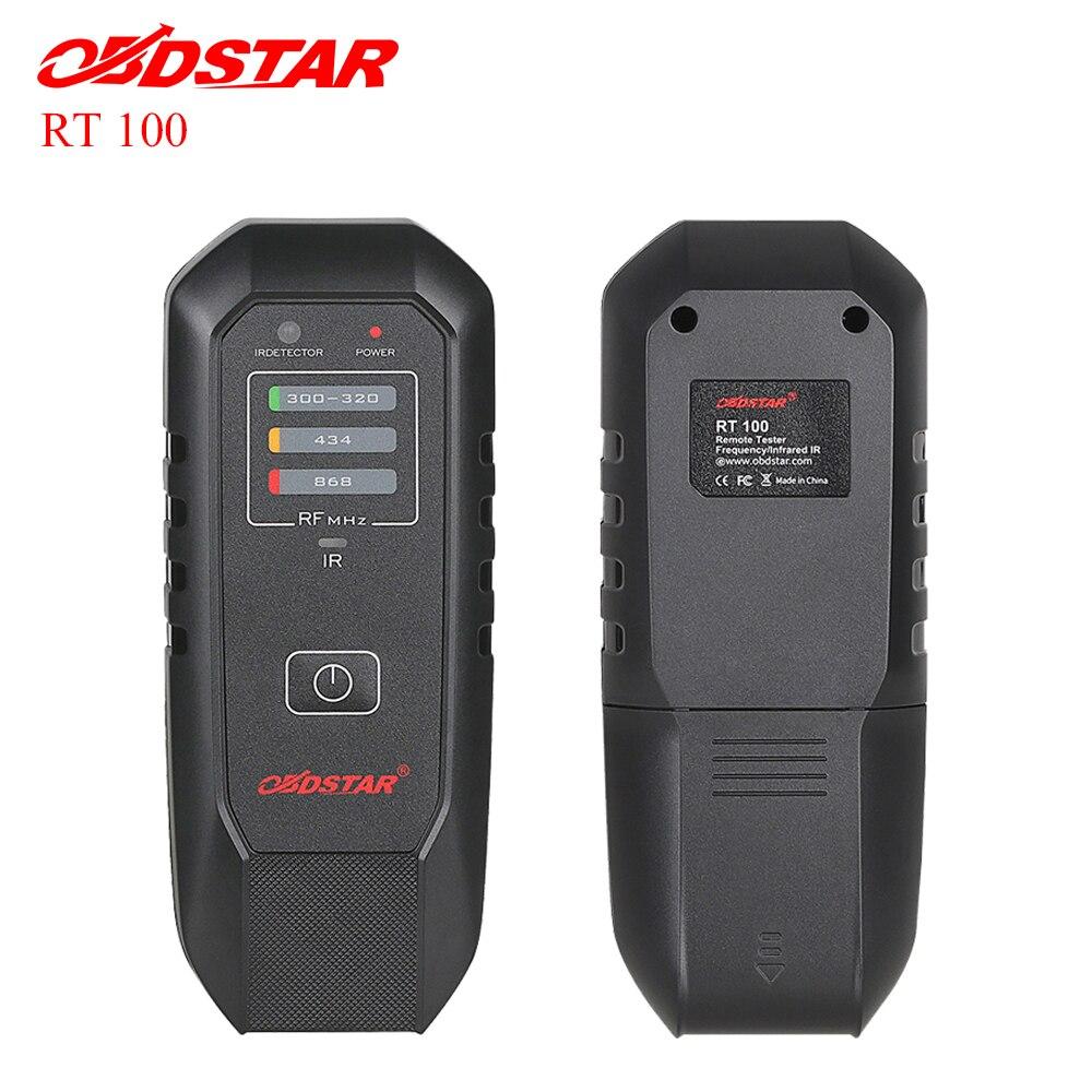 OBDSTAR Remote-Tester Frequenz/Infrarot IR RT100 Remote Scanner RT100 Für 300 Mhz-320 Mhz 434 Mhz 868 mhz Freies Verschiffen