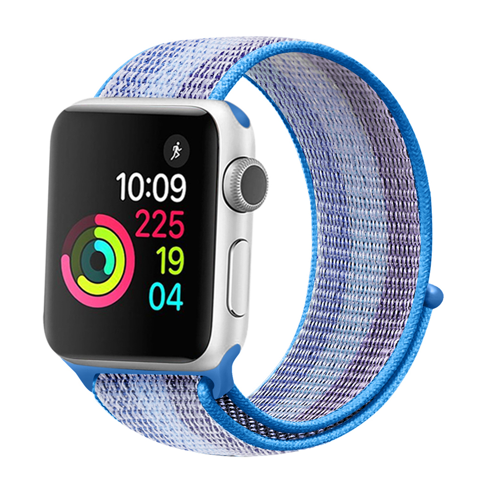 Nylon Woven Wrist bands for Apple Watch 42mm 44mm Sport Loop Band Bracelet Belt Strap for iWatch Series 4/3/2/1