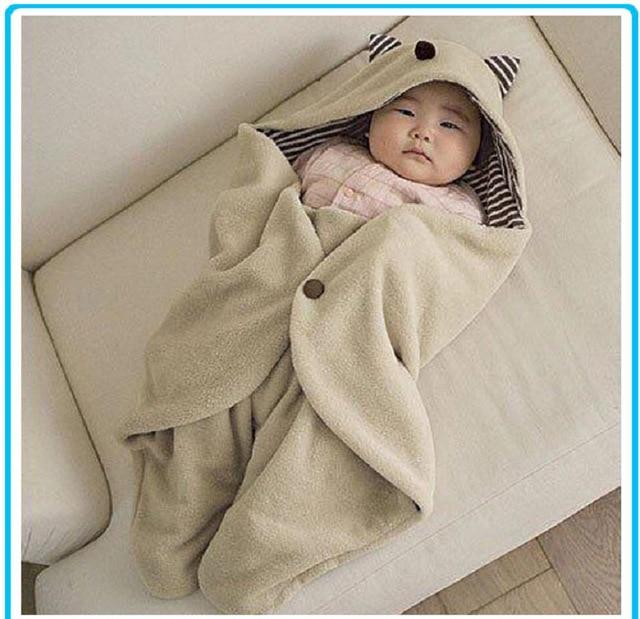 baby blankets warm sleeping bag trolleys Cloths 90x78cm