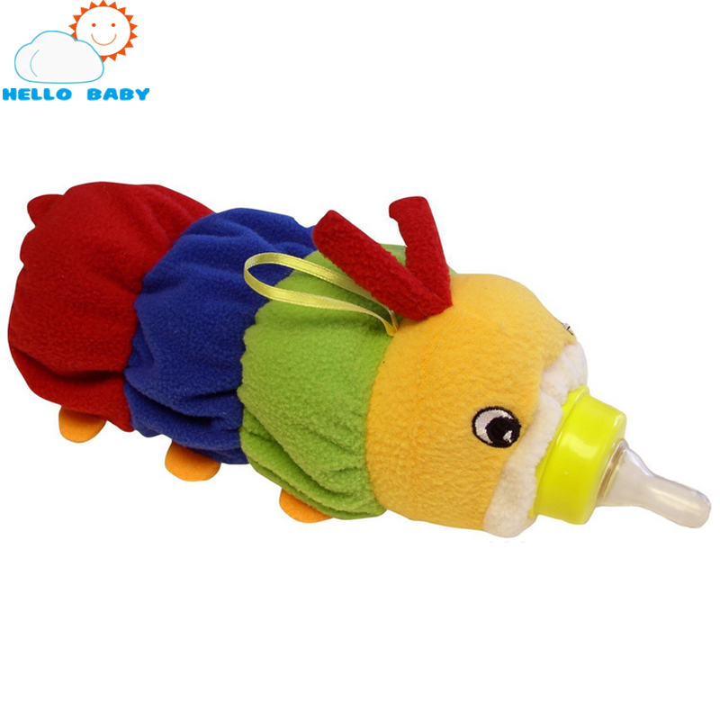 lovely high quality Cartoon animal Feeder Lagging Baby Bottle Huggers Infant feeding bottle bag case for newborn children