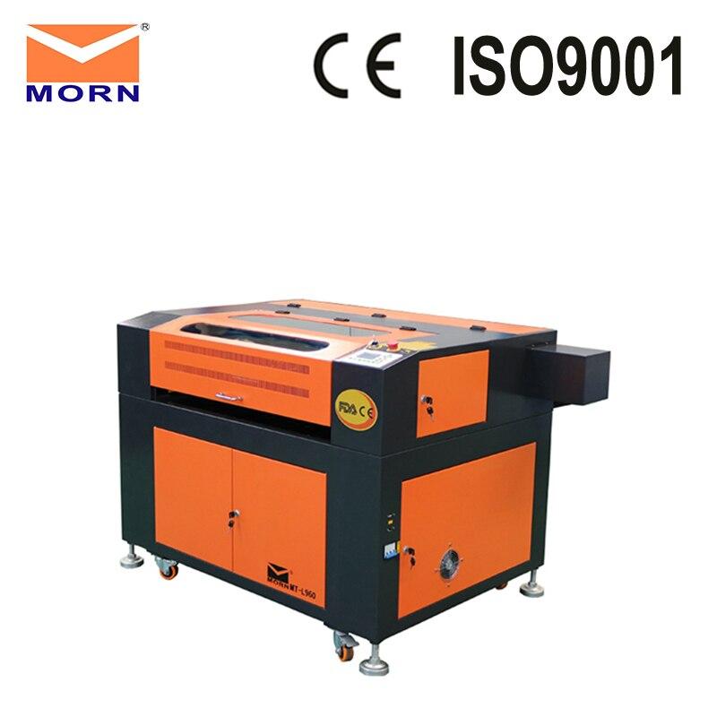 Machine de gravure laser CO2 avec table rotative et électrique