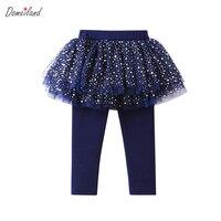 2017 New Fashion Autumn Baby Girl Clothing Cute Kids Print Lemon Lace Cotton Tutu Layer Skirt
